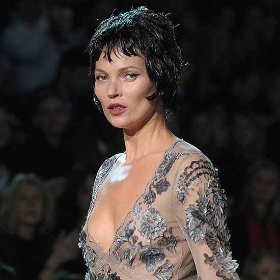Kate Moss at Louis Vuitton Fall 2013 Show (Video)
