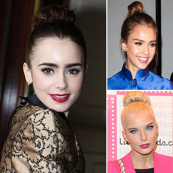 Top Beauty Trends for Spring 2013 on Celebrities