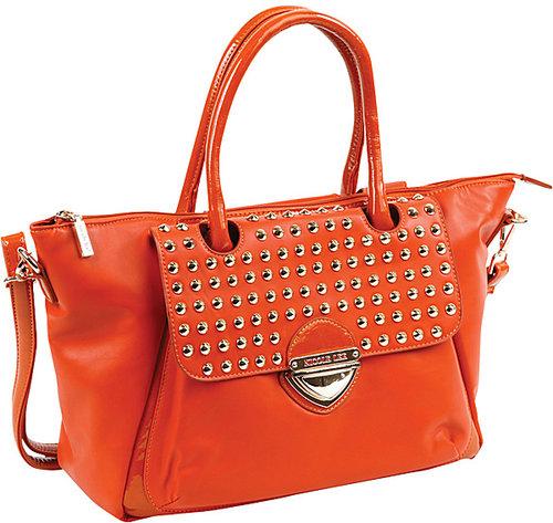 Nicole Lee Yvonne Studded Fold Over Shopper Bag