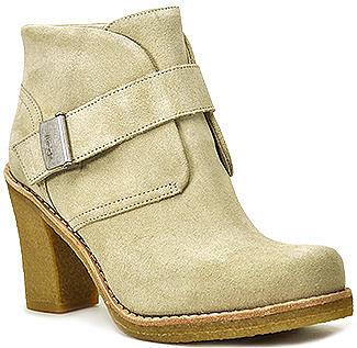 UGG Australia - Brienne - Sand Suede Crepe Heel Bootie