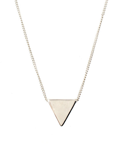 ASOS Ditsy Triangle Necklace