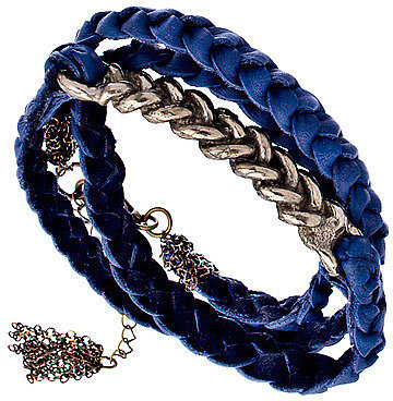 Dalita Akito Blue Wrap Bracelet