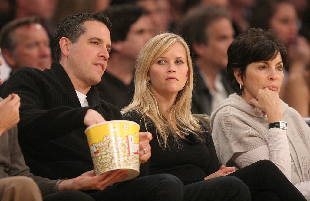 Reese Witherspoon and her husband, Jim Toth, had popcorn.