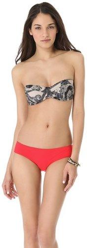 Zimmermann Collision Lace Underwire Bikini Top