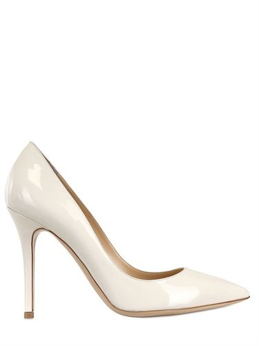 Semilla - 100mm Patent Pointed Toe Pumps