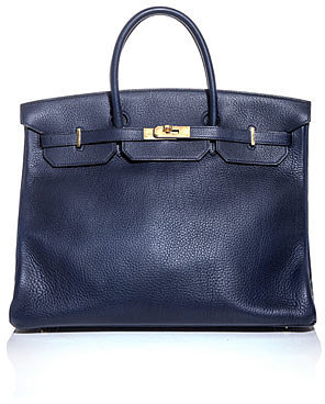 "[a href=""/womens/hermes-vintage""]Hermes Vintage[/a]              Birkin 40 leather bag"