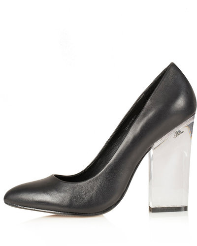 GLASS Perspex Heel Courts