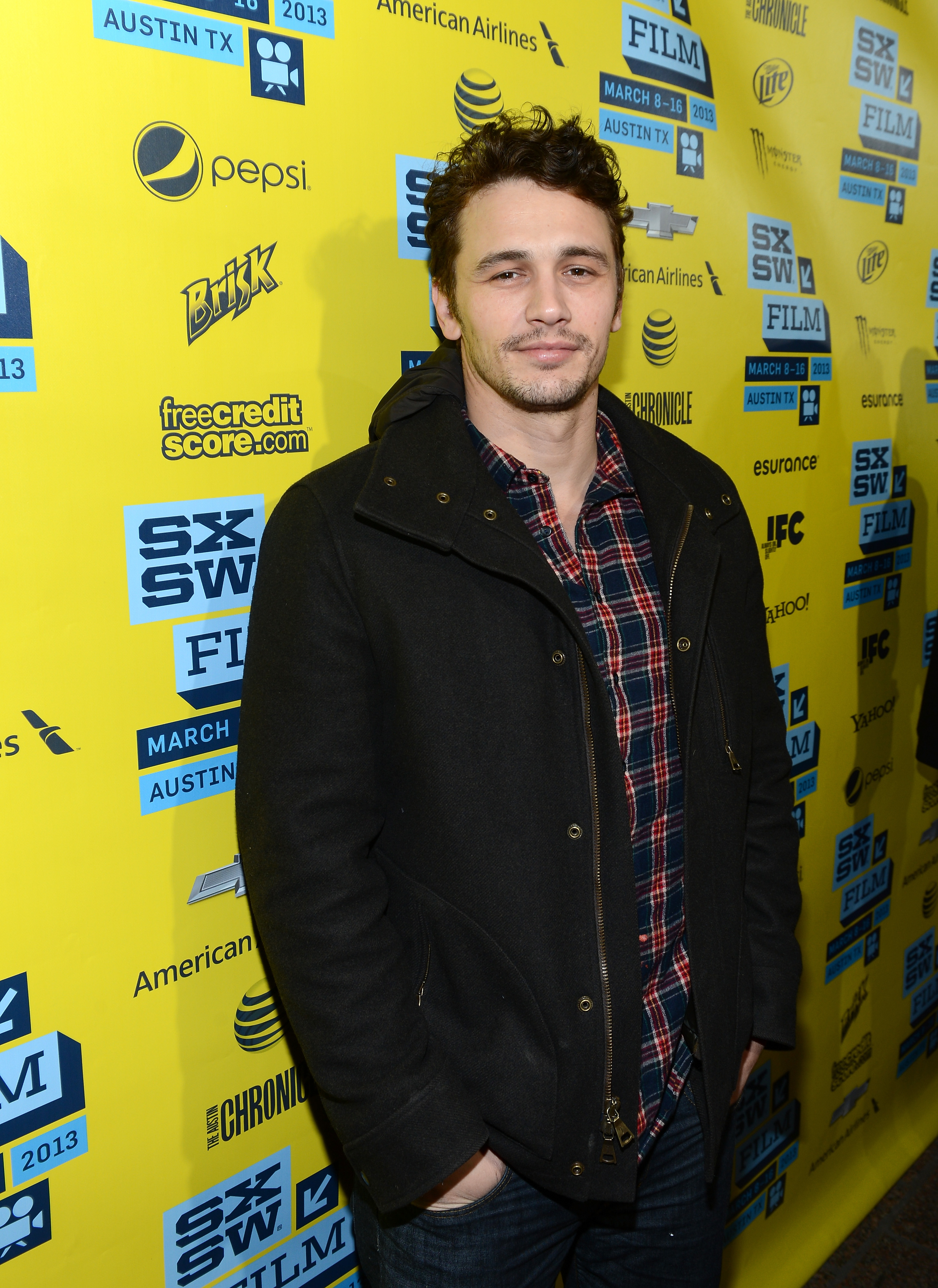 James Franco hit the red carpet at the Spring Breakers premiere at SXSW.