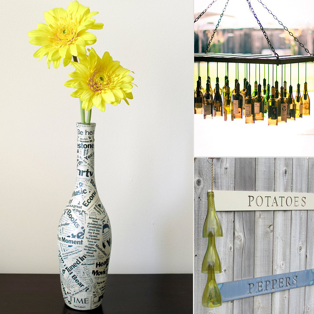 Cool Uses For Wine Bottles Popsugar Smart Living
