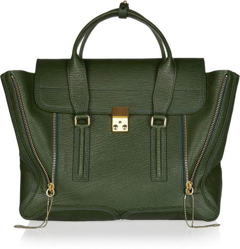 3.1 Phillip Lim Pashli texured-leather tote