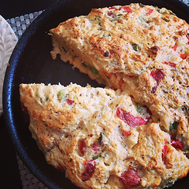 Cheese and Pepper Scones