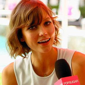 Karlie Kloss Victoria's Secret Swim Party Interview   Video