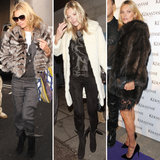 Kate Moss Fur Coat Photos