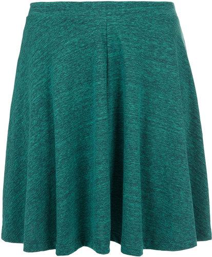 Green Speckle Skater Skirt