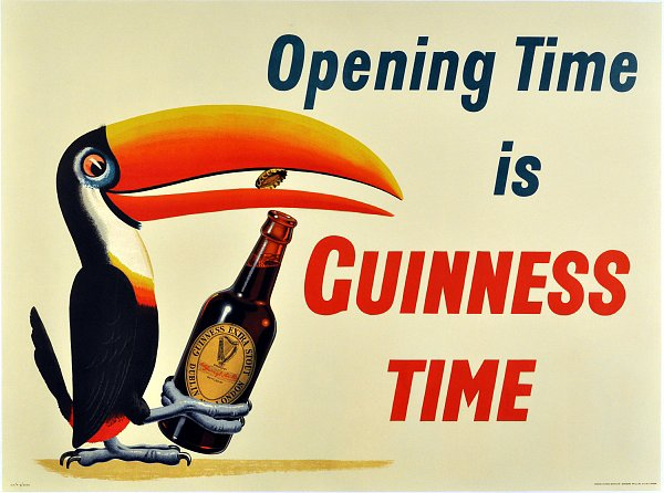 Opening time, closing time — isn't Guinness time all the time?
