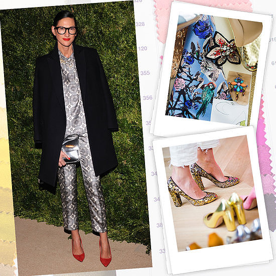 How many pairs of shoes does Jenna Lyons own?