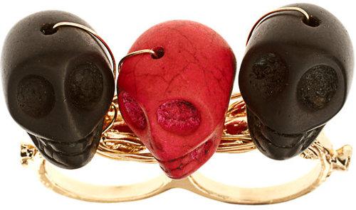 Howlite Skull Jewelry