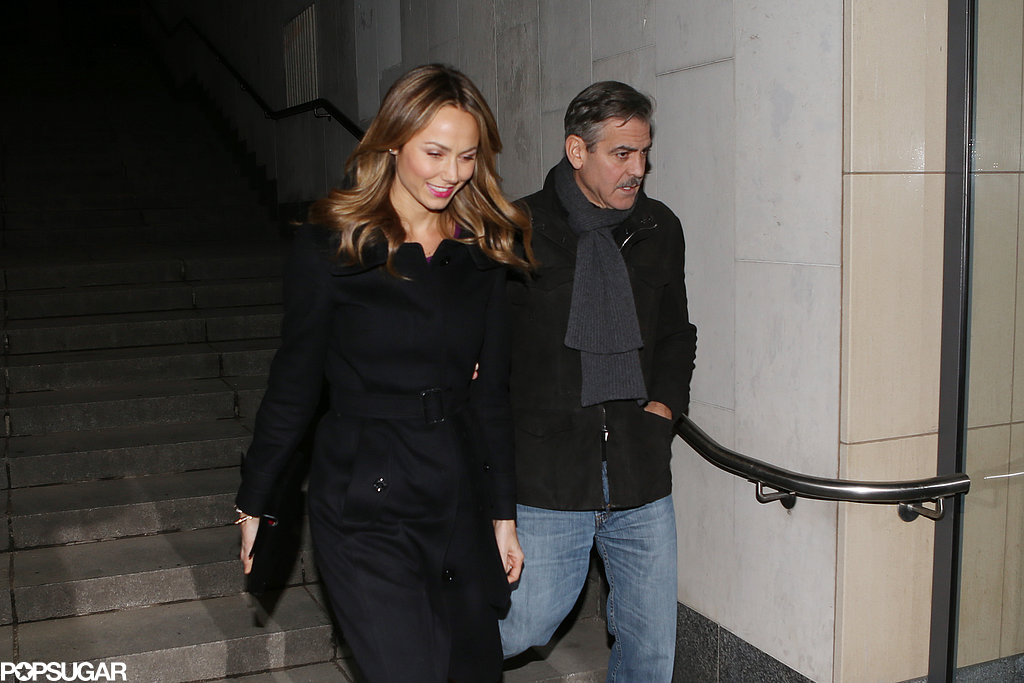 Matt Damon Joins George Clooney and Stacy Keibler's Berlin Date Night