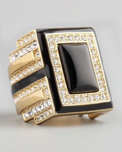Rachel Zoe Art Deco Ring