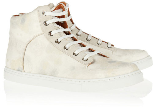 Mulberry Printed canvas sneakers