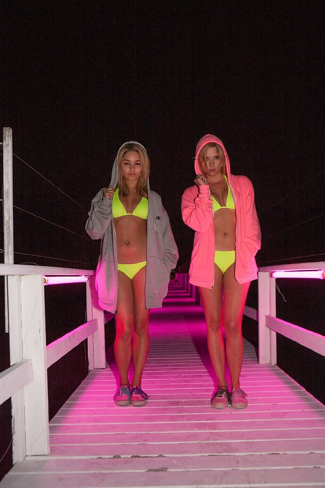 Vanessa Hudgens and Ashley Benson in Spring Breakers