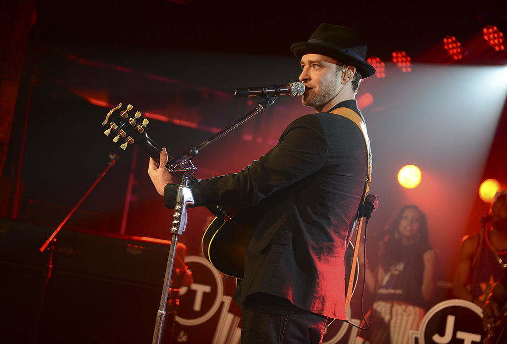 Justin Timberlake performed at SXSW.