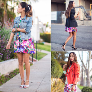 3 Ways to Wear a Floral Dress