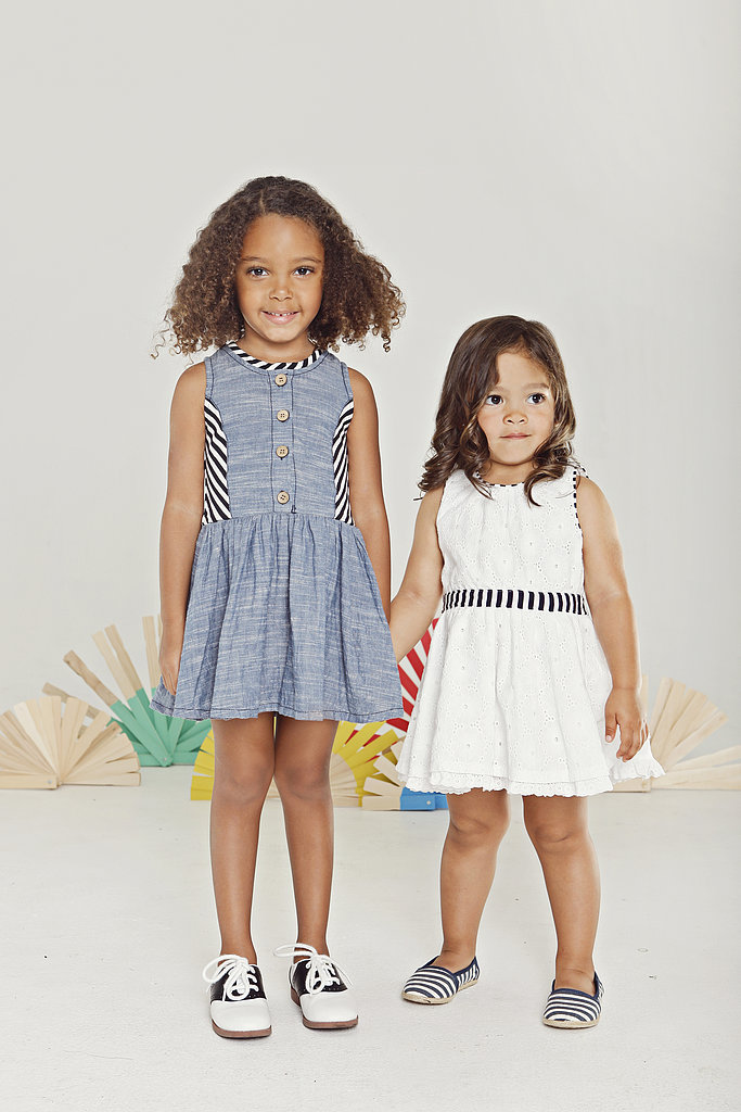 Look one (left): Chambray Dress ($62)