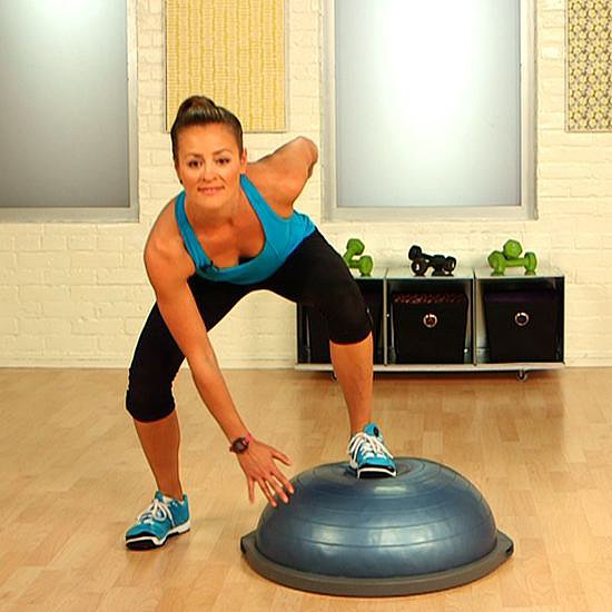 Bosu Ball Side Jumps: Full-Body BOSU Exercises