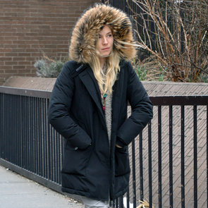Sienna Miller Wearing a Furry Parka in NYC | Pictures