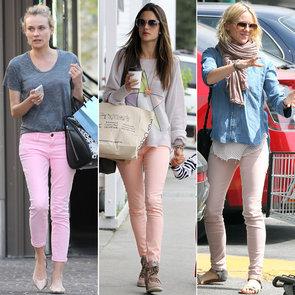 Diane Kruger in Pink Jeans   Pictures