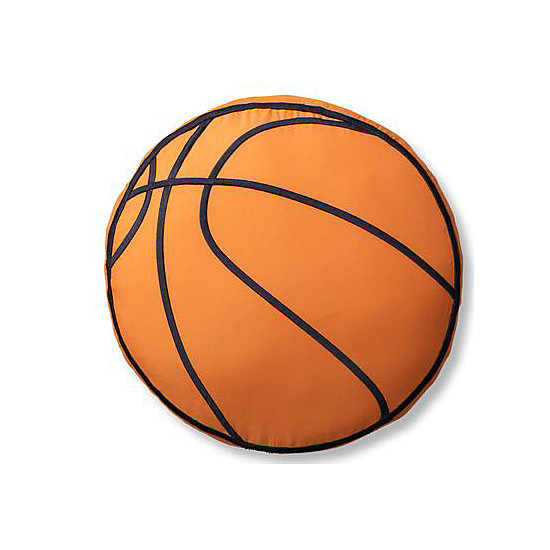 Athletic Club Basketball Pillow