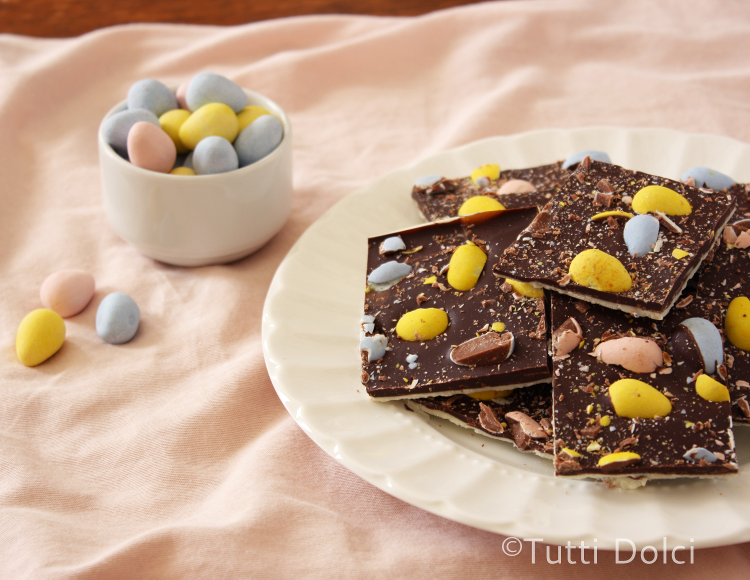 Cadbury Easter Egg Bark