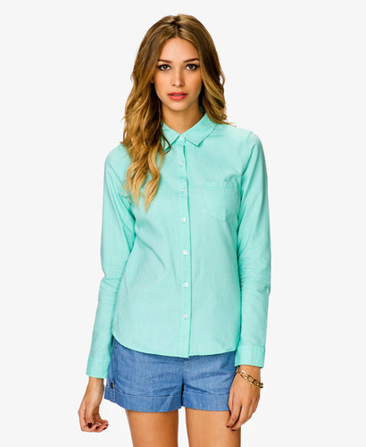 FOREVER 21 Essential Polo Shirt