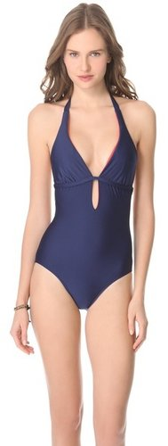 Splendid Bayside Solids One Piece Swimsuit