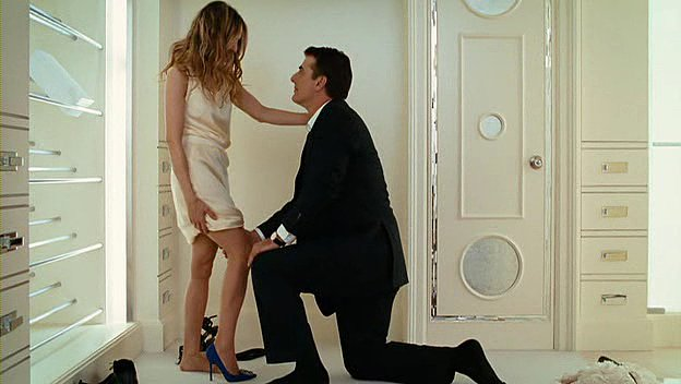Proposing With a Shoe