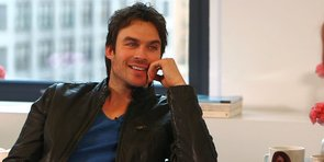 Ian Somerhalder on How He Might Literally Be Saving the World