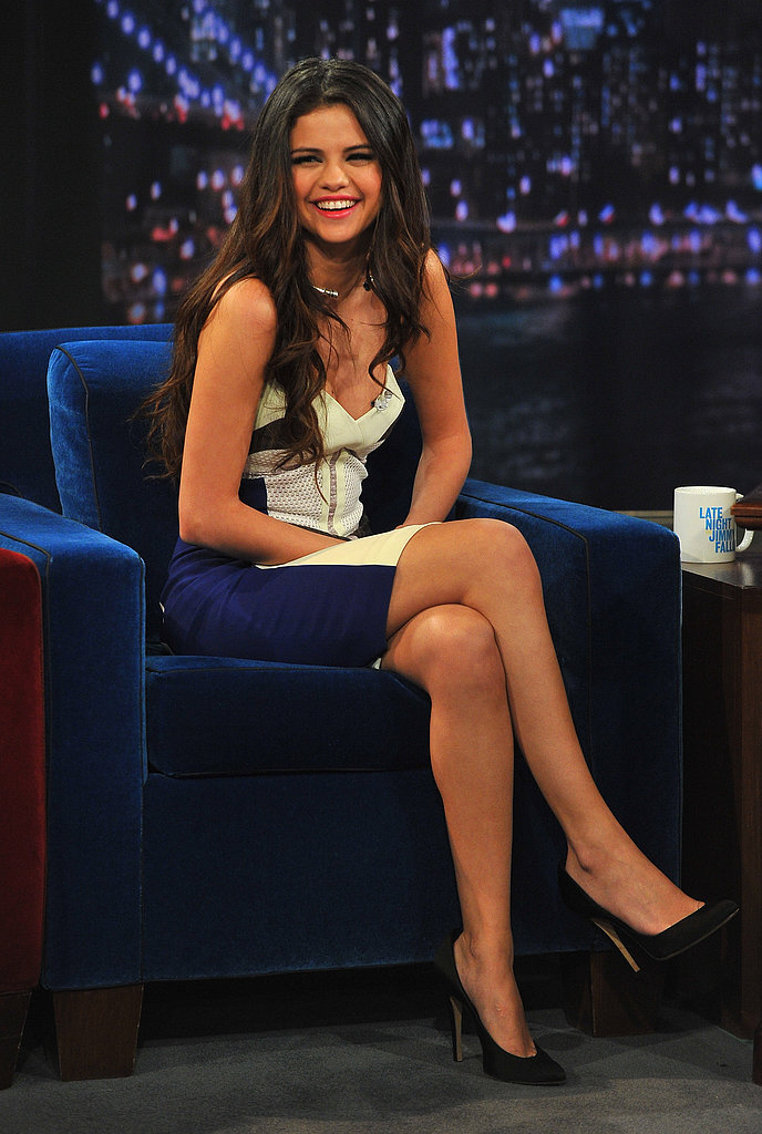 Selena Gomez made an appearance on Late Night With Jimmy Fallon.