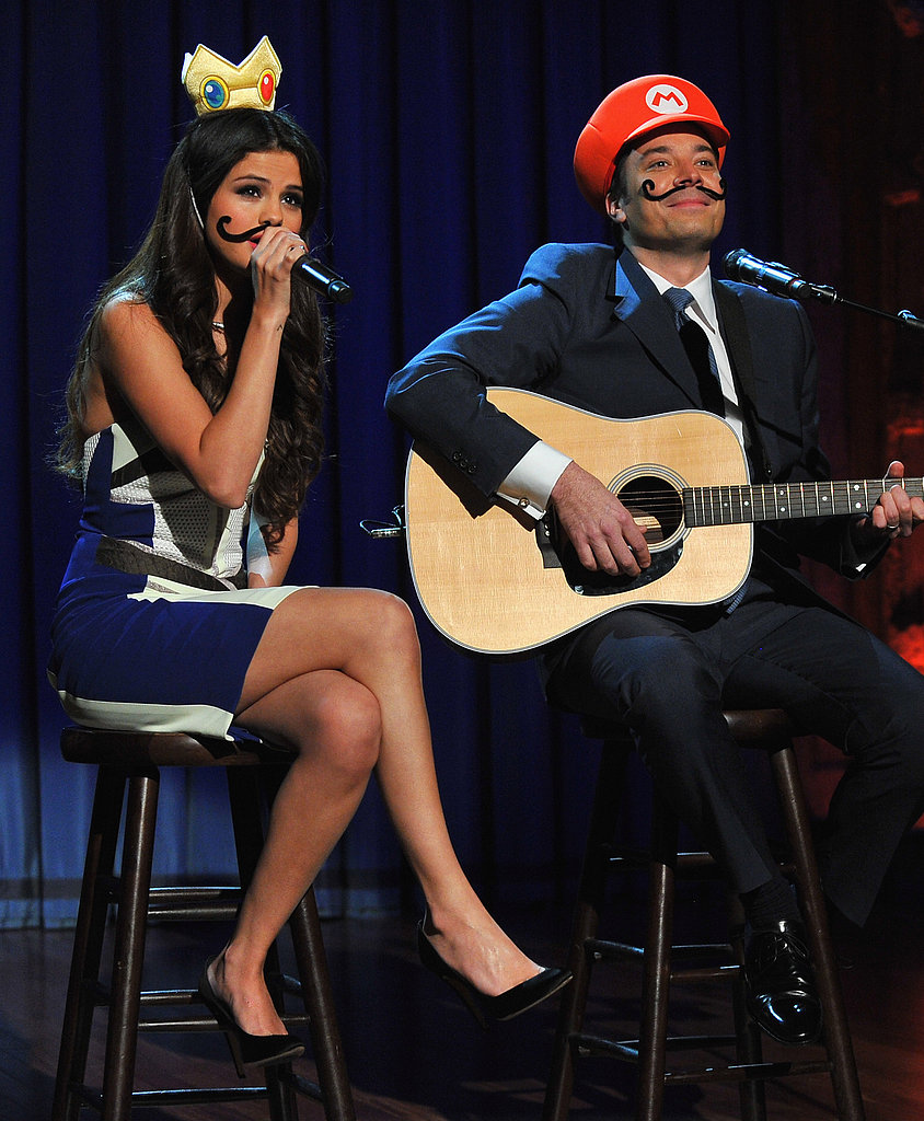Selena Gomez and Jimmy Fallon performed a hilarious love song duet.