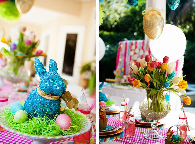 Bunnies and Blooms