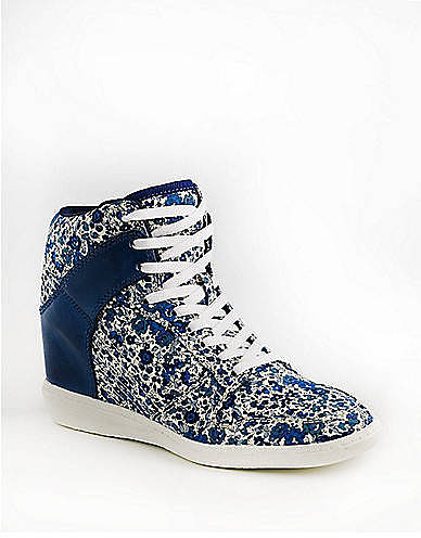 LORD & TAYLOR Liberty of London Trombly Printed High-Top Sneakers