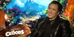 Nicolas Cage Talks About The Croods' Visual Feast and Costar Ryan Reynolds