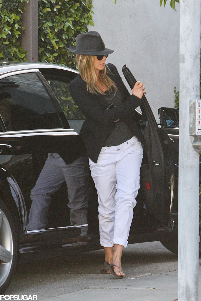 Jennifer Aniston and Justin Theroux Nest Ahead of Rumored Wedding