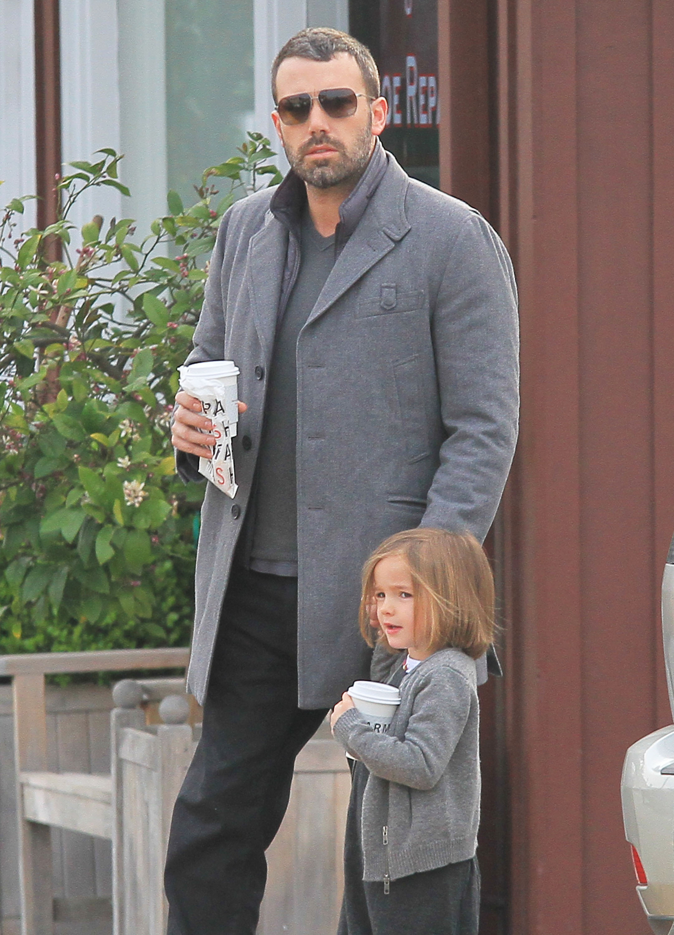 Seraphina Debuts a New 'Do With Ben While Jen Has a Girls' Night Out