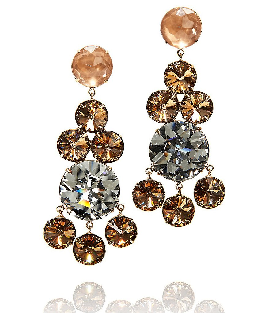 Tory Burch's rhinestone chandelier earrings ($39, originally $195) will add a sparkling touch to all of your dressier looks.