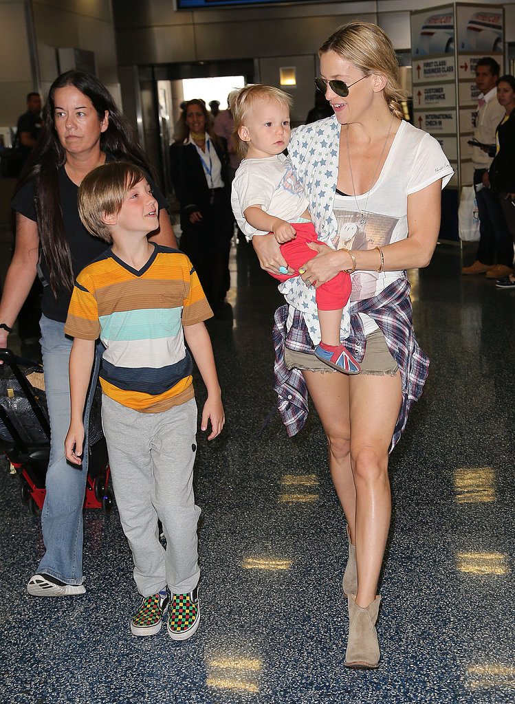 Kate Hudson: Navigating the Airport Like a Pro With Kids in Tow