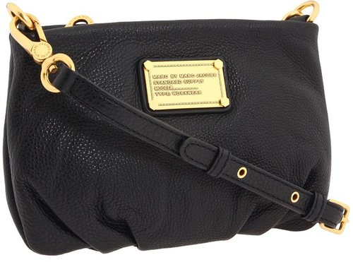 Marc by Marc Jacobs - Classic Q Percy (Black) - Bags and Luggage
