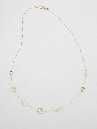 Ippolita 18K Gold & Semi-Precious Multi-Stone Station Necklace