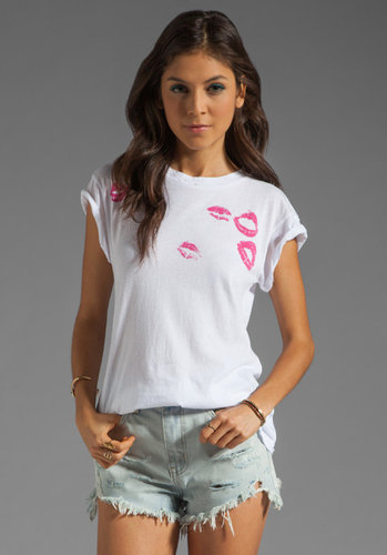 Wildfox Couture EXCLUSIVE Lipstick Traces Tee