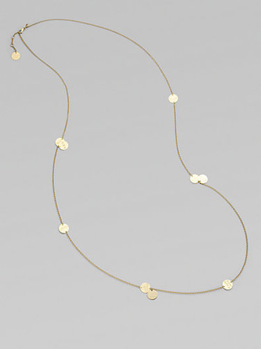Roberto Coin 18K Yellow Gold Love Coin Necklace